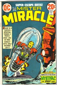 Mister Miracle #12 comic book fine 6.0