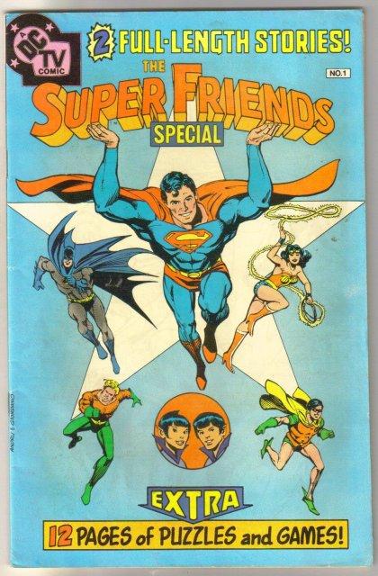 Super Friends special #1 comic book fine 6.0