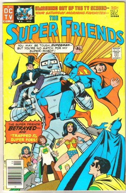 Super Friends #2 comic book very fine/near mint 9.0