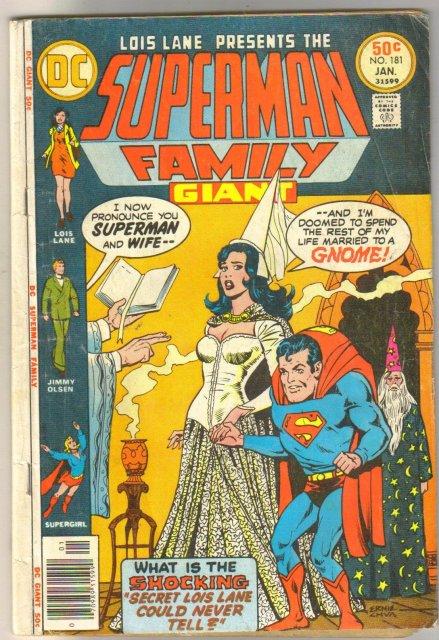 Supman Family #181 comic book very good 4.0