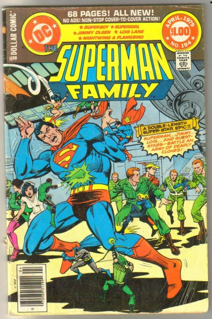 Supman Family #194 comic book very good 4.0