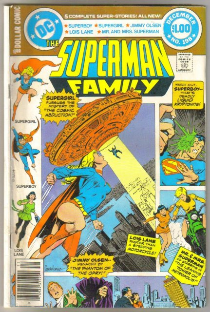 Supman Family #198 comic book very good/fine 5.0