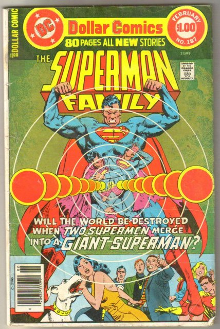 Supman Family #187 comic book very good/fine 5.0