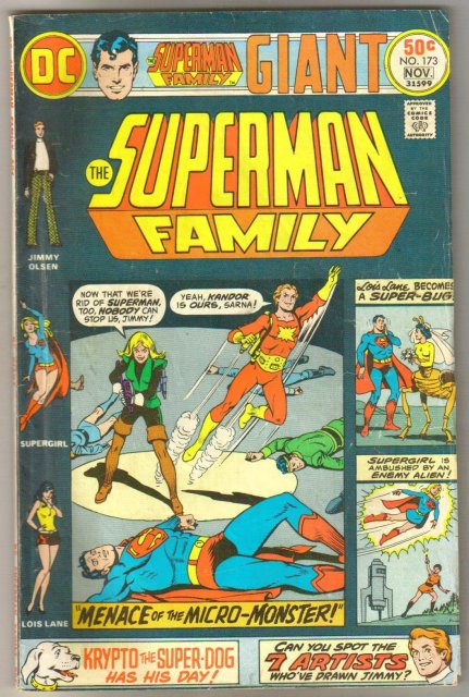 Supman Family #173 comic book very good/fine 5.0
