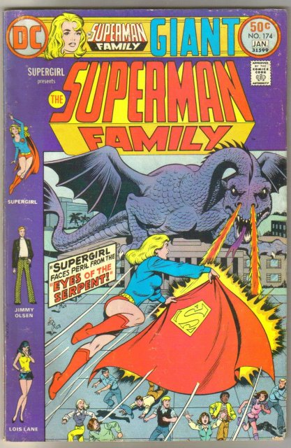 Supman Family #174 comic book fine 6.0