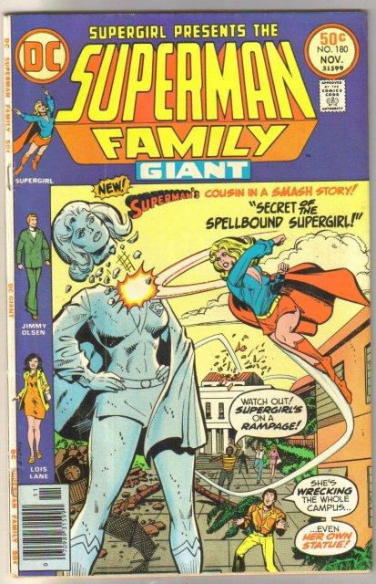 Supman Family #180 comic book fine 6.0