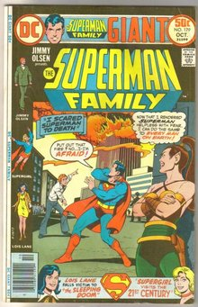 Supman Family #179 comic book fine 6.0