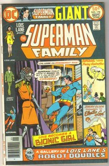 Supman Family #178 comic book very fine 8.0