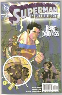 Superman Birthright #2  comic book mint 9.8