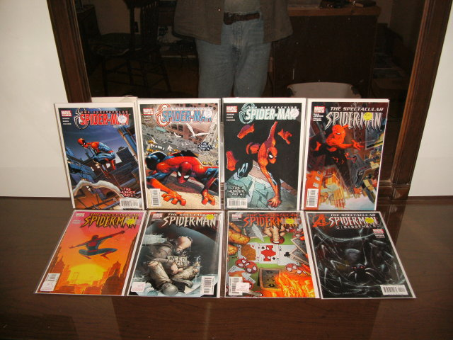 Spectacular Spider-man 2nd series comic book collection of 8