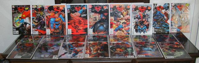 Superman Batman collection of 23 comic books