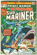 Sub-Mariner #66 comic book very good/fine 5.0