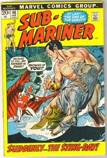Sub-Mariner #46 comic book fine 6.0