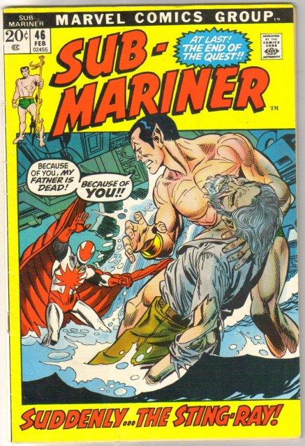 Sub-Mariner #46 comic book fine 6.0