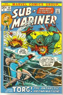 Sub-Mariner #55 comic book fine 6.0