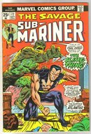 Sub-Mariner #72 comic book fine 6.0
