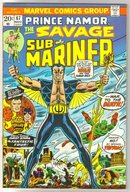 Sub-Mariner #67 comic book fine/very fine 7.0