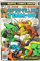 Super-Villain Team-Up #9 comic book fine 6.0