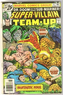 Super-Villain Team-Up #6 comic book fine/very fine 7.0