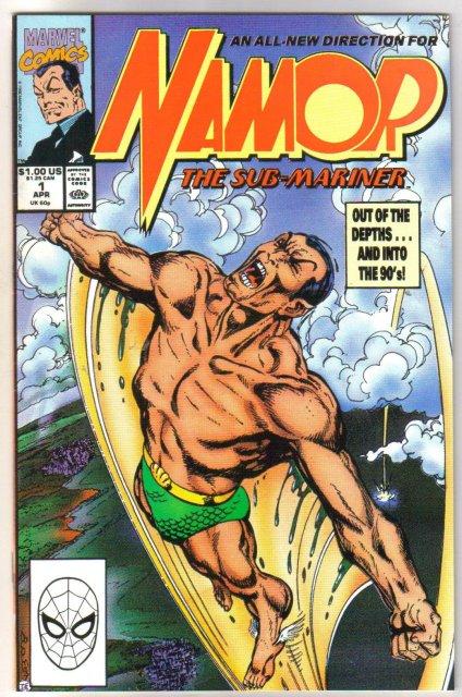 Namor the Sub-Mariner #1 comic book mint 9.8