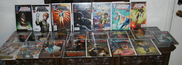 Michael J. Straczynski's Supreme Powere 22 issue comic book collection