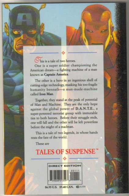 Tales of Suspense $6.95 1995 special comic boob mint 9.8