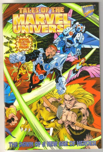 Tales of the Marvel Universe #1 comic book mint 9.8