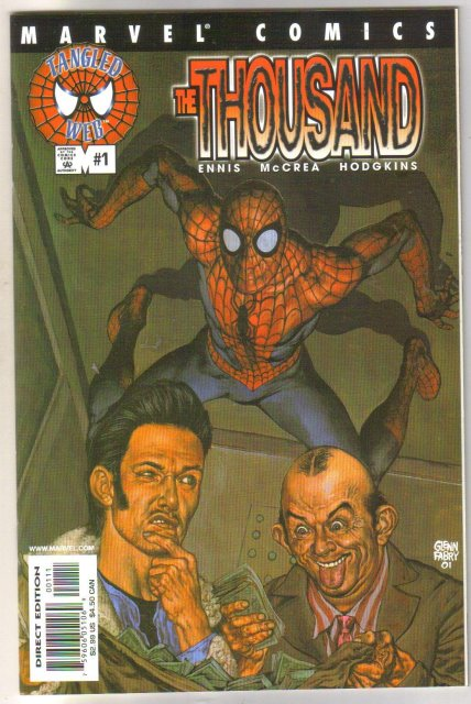 Spider-man's Tangled Web #1 The Thousand comic book mint 9.8