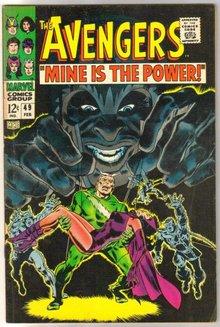 Avengers #49 comic book very good 4.0