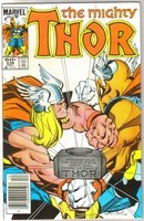 The Mighty Thor #338 comic book mint 9.8