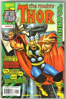 The Mighty Thor 1999 annual comic book mint 9.8