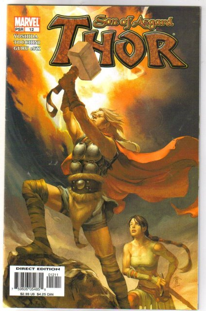 Thor Son of Asgard #12 comic book near mint 9.4