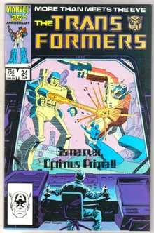 Transformers #24 comic book near mint 9.4