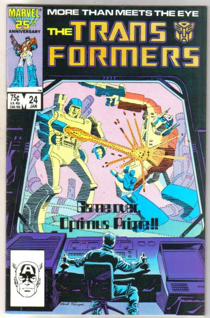 Transformers #24 comic book near mint 9.4
