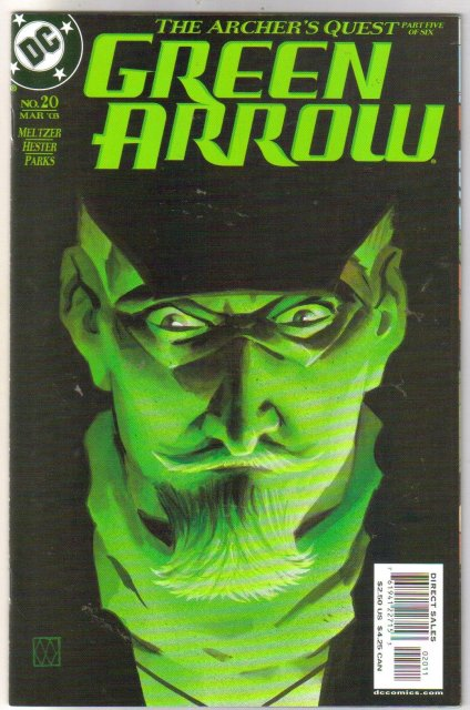 Green Arrow #20 comic book mint plus 9.9