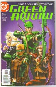 Green Arrow #21 comic book mint  9.8