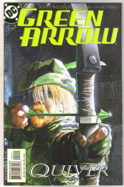Green Arrow #2 comic book mint 9.8