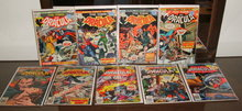 Tomb of Dracula comic book collection of 9 different issues