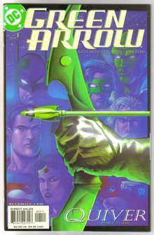 Green Arrow #4 comic book mint plus 9.9