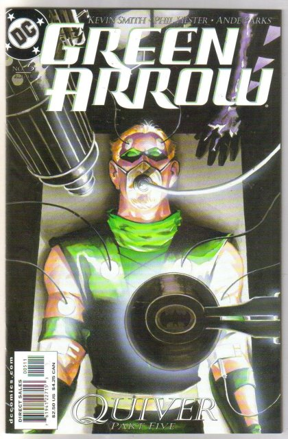 Green Arrow #5 comic book mint plus 9.9