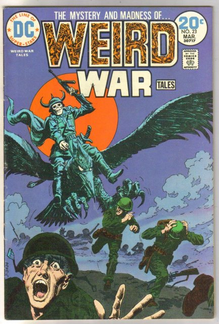 Weird War Tales #23 comic book fine/very fine 7.0