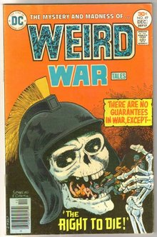 Weird War Tales #49 comic book very fine 8.0
