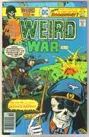 Weird War Tales #48 comic book near mint 9.4