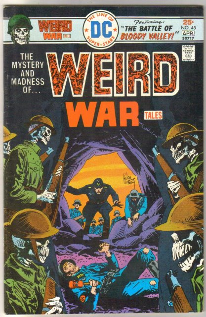 Weird War Tales #45 comic book very fine/near mint 9.0