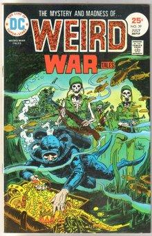 Weird War Tales #39 comic book near mint 9.4