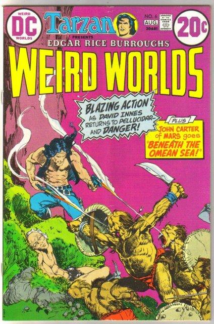 Weird Worlds #6 comic book very good/fine 5.0