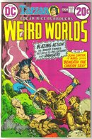 Weird Worlds #6 comic book very good/fine 5.0
