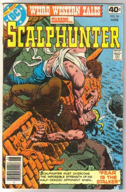 Weird Western Tales #56 comic book fine/very fine 7.0