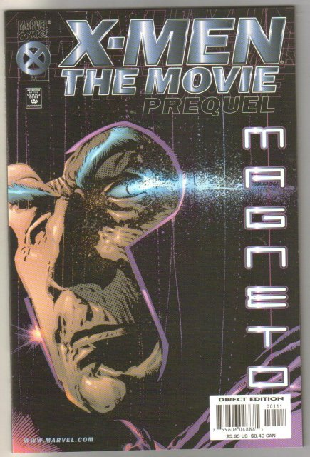 X-Men The Movie Prequel Magneto comic book adaptation (first movie) mint 9.8