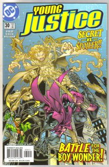 Young Justice #30 comic book mint plus 9.9